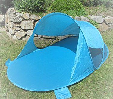 IMC Manufactoria Pop Up Strandmuschel blau Wurf Zelt Strand Camping Sonnen Schutz Wind 375x330 - IMC Manufactoria Pop-Up Strandmuschel blau Wurf-Zelt Strand Camping Sonnen-Schutz Wind türkis