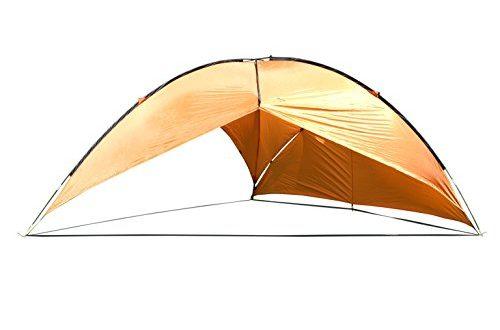 MONTIS Malibu Sonnensegel Sonnenschutz Strandezlt mit wasserdichtem Material als 500x330 - MONTIS Malibu Sonnensegel, Sonnenschutz & Strandezlt mit wasserdichtem Material als Wetterschutz-Segel, atmungsativ mit UV Schutz als Schattenspender & Schattensegel für Outdoor, Meer & Camping