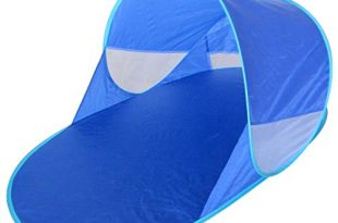 Strandmuschel Strand Sonnen Zelt Baby UND Kinder, 100% OPTIMALER UV Schutz Pop Up Wurf strandzelt, Beach, babyzelt, Camping