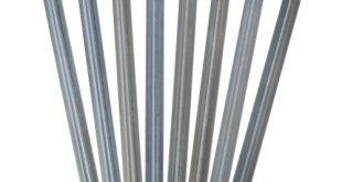 outdoorer Sandheringe 30cm Sandfortress 8 Stueck 12 mm Dicke 310x165 - outdoorer Sandheringe, 30cm - Sandfortress 8 Stück 1,2 mm Dicke Stahlheringe mit V-Profil inkl. Transporttasche