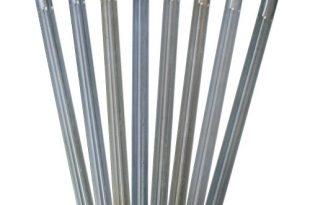 outdoorer Sandheringe 30cm Sandfortress 8 Stueck 12 mm Dicke 310x205 - outdoorer Sandheringe, 30cm - Sandfortress 8 Stück 1,2 mm Dicke Stahlheringe mit V-Profil inkl. Transporttasche