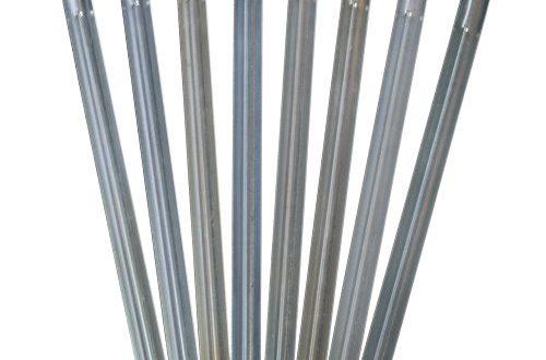 outdoorer Sandheringe 30cm Sandfortress 8 Stueck 12 mm Dicke 500x330 - outdoorer Sandheringe, 30cm - Sandfortress 8 Stück 1,2 mm Dicke Stahlheringe mit V-Profil inkl. Transporttasche